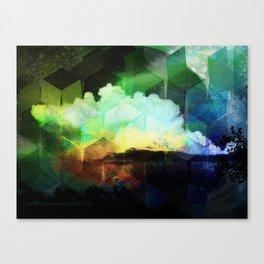 Wetterleuchten Canvas Print