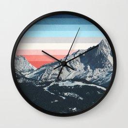 Colorscape I Wall Clock