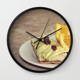 light snack Wall Clock