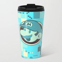 Mario print Metal Travel Mug