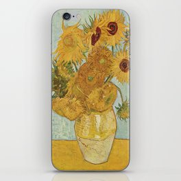 Vincent van Gogh's Sunflowers iPhone Skin