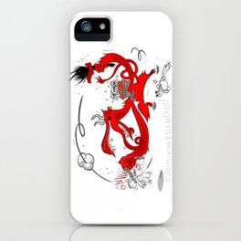 Gruss vom Krampus! iPhone Case