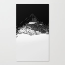 Crystal Mountain Canvas Print