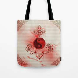 Ying und Yang, decortatives design Tote Bag