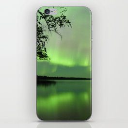 Aurora Borealis Reflection iPhone Skin