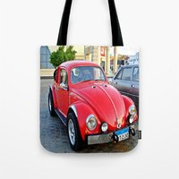 mini Tote Bags featuring Mini by Magic Emilia