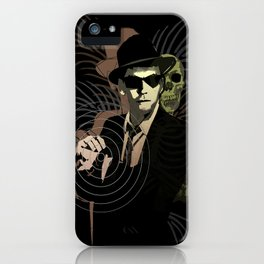 G-Man on Holiday iPhone Case