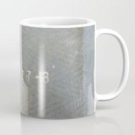 Urban Texture Photography - Airport Hangar Mats Coffee Mug