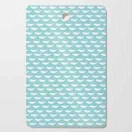 Turquoise beluga pattern Cutting Board