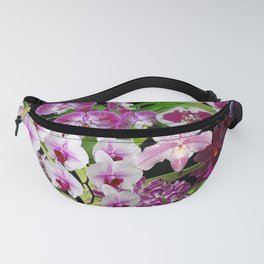 Orchids - Cool colors! Fanny Pack