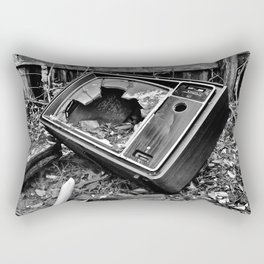 Kill Your Television Rectangular Pillow