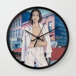 Stylish Girl Wall Clock