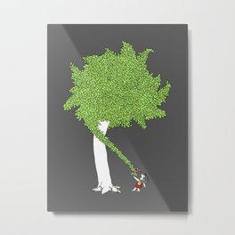 The Taking Tree Metal Print