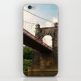 Wheeling Suspension Bridge  iPhone Skin