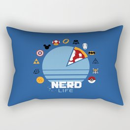 Nerd life Rectangular Pillow