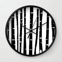 Birchs BLK Wall Clock