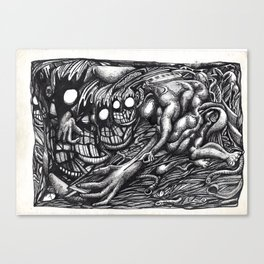 Grendel Mother Dream Canvas Print