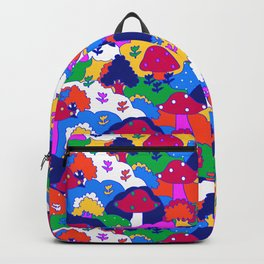 Trippy Hippie Hills Backpack