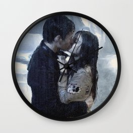"""My Love, the Reason I Survive"" Wall Clock"