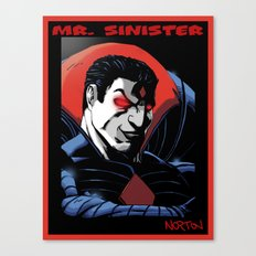Mr. Sinister Canvas Print