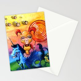 The Candy Warrior Stationery Cards