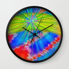 Abstract lighteffects -10- Wall Clock