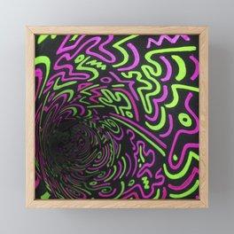 Reality Tunnel Framed Mini Art Print