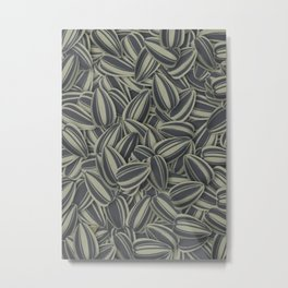 Pipas Mania (Spanish for sunflower seeds) Metal Print