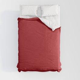 ADRENALINE RUSH Dark Red solid color Comforters