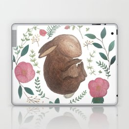 Sleeping Bunny Laptop & iPad Skin