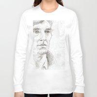 sherlock Long Sleeve T-shirts featuring Sherlock by Amanda Powzukiewicz