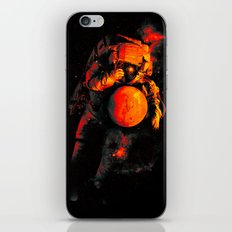 It's a Small Worls After All (Mars) iPhone & iPod Skin