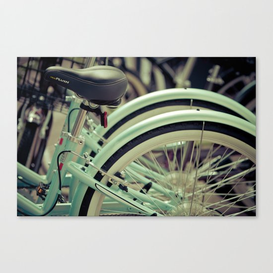 """""""Life is like a ten speed bicycle. Most of us have gears we never use."""" ~Charles M. Schulz~ Canvas Print"""
