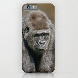 Gorilla Female iPhone Case