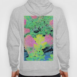 Fluorescent Golden Smoke Tree Garden Hoody