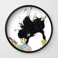 architect Wall Clocks featuring The Architect by 3:33