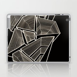 Pockets - Inverted Gold Laptop & iPad Skin