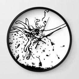 kabooom! Wall Clock