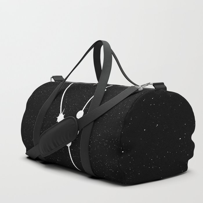 TAURUS (BLACK & WHITE) Duffle Bag