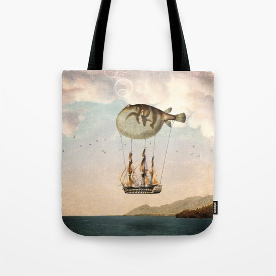 The Big Journey Tote Bag