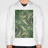 fractal Hoodies featuring Fractal by nicky2342