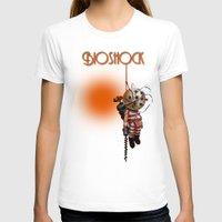 bioshock T-shirts featuring sunset bioshock by sgrunfo