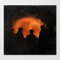 top gear Canvas Prints featuring Night in Botswana - Top Gear by not-the-stig