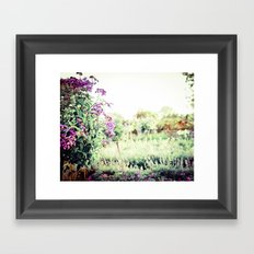 Midsummer Splendor Framed Art Print