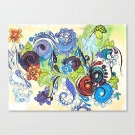 Loopty Loo Canvas Print