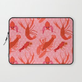 Catchin' Cajun Crawdads in Coral Laptop Sleeve