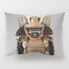 Historical Samurai Armor Photograph (17th-18th Century) Pillow Sham