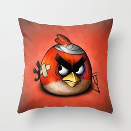Angry Birds Throw Pillow