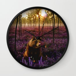 The Bare Necessities Wall Clock