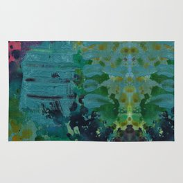 Sound Effects in Teal Rug